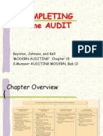 Audit Ch 19 Completing the Audit