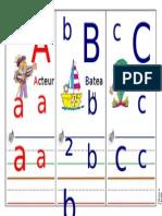 Frise Alphabet Trame Modifiable