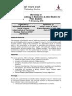 ICSSR Brochure_Dept of HSS