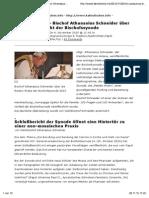 Non Possumus – Bischof Athanasius Schneider Über Den Schlußbericht Der Bischofssynode » Print
