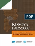 Kosova 1912-2000 Ne Tekstet Mesimore Te Historise Te Kosoves, Shqiperise Dhe Serbise