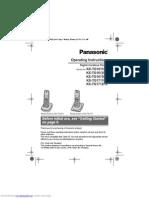 Panasonic kxtg1611fx User Manual