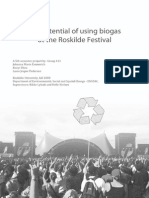 Biogas potential at the Roskilde Festival