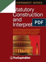 Statutory Construction and Interpretation by Yule Kim