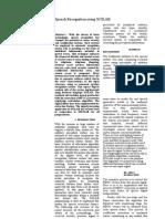 Dsp Report
