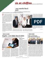 Article La Tribune Du 24 Avril 2015_Anticiper le contrôle fiscal et les principaux motifs de redressements