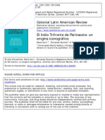 El Indio Trifronte de Parinacota