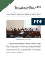 Debate DCE Uniderp 2015