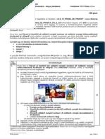 Cls 10 Subiect Proba de Proiect Hu