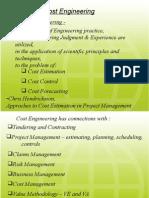project cost estimation - pem9