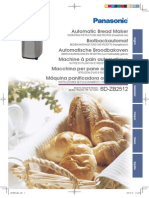Manuale Panasonic 2512