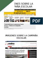 diapositivas de Imágenes Sobre La Campaña Escolar