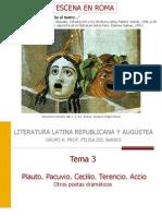 Tema 3 a La Palliata
