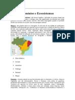 Biomas Ciencias do ambiente