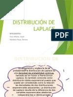 Distribución de Laplace