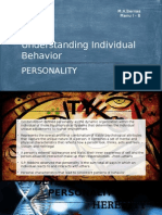 Personality Lecture