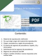 2.2. Regiones Procedencia