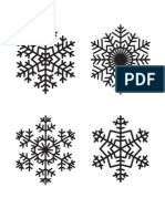 Snowflake Outlines