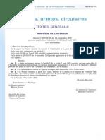 Décret Du 14 Novembre 2015 Relatif à l'Application de l'État d'Urgence en Ile-De-France