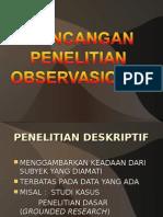 6 Rancangan Penelitian Observasional