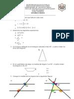 Examen Primer Bimestre Segundo Matematicas
