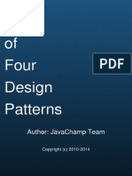 Gang of Four Java Design Patterns Mock Exams