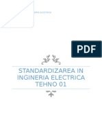 STANDARDIZAREA IN INGINERIA ELECTRICA TEHNO 01