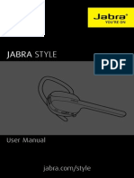 Jabra Style Manual en, REV B