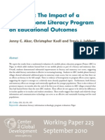 TESTING 2010 09 Mobile Phone Literacy FINAL