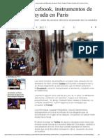 Twitter y Facebook, Instrumentos de Búsqueda y Ayuda en París _ Twitter _ Redes Sociales _ El Comercio Peru