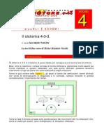 Tecnica calcistica - Il Sistema 4-3-3