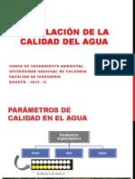 4.Modelación Calidad Del Agua 2015-II