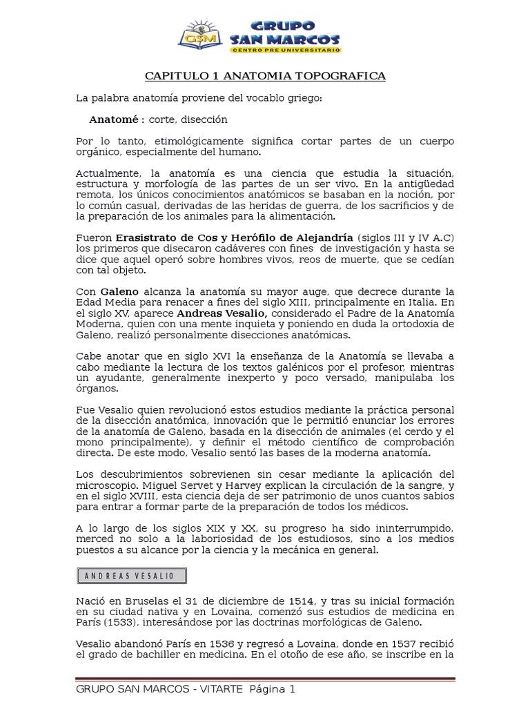 Cap. 1 Anatomia Topografica - Murguia
