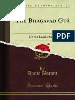 The Bhagavad GYtY 1000000092