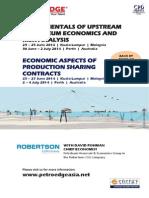 Upstream- Petroleum Economic Aspects