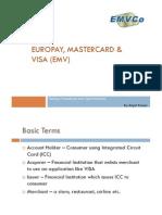 EMV - Europay,MasterCard,Visa