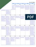 Calendario Series Noviembre