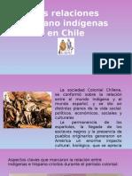 Relacion Hispano Indigenas en Chile