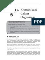 20150121070035_Topik 6 Komunikasi Dalam Organisasi