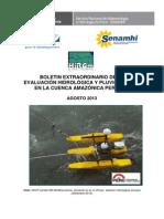 Boletín Hidrológico Amazonas
