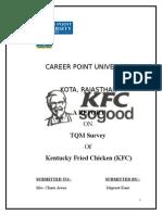TQM AT KFC