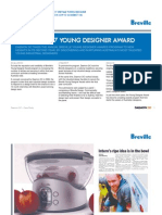 Daemon Group Case Study Breville Young Designer Award