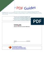 Manual Do Usuário Lexmark Interpret s400 p