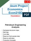 Petroleum Project Economics 02