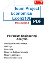 Petroleum Project Economics 02