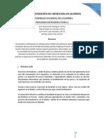 Informe Práctica de Fundición