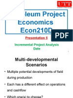 Petroleum Project Economics 05
