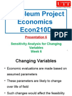 Petroleum Project Economics 06