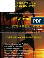 Legal Aspects of the Oil & Gas Industry
