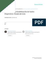 Identificación y Estabilización de Suelos Dispersivos, Estado Del Arte.
